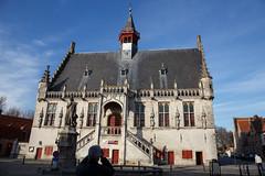 Damme town hall (paul indigo) Tags: colour building architecture belgium townhall damme jacobvanmaerlant paulindigo