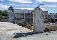 Demolition (AstridWestvang) Tags: building concretecement demolition industry skien telemark