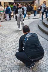 Strike a pose // Trip to Spain - San Sebasian (Merlijn Hoek) Tags: street camera man slr 35mm photography vakantie spain nikon fotografie photographer streetphotography full fullframe nikkor holliday espagne digitalslr kamera straat merlijn hoek paísvasco 2016 fotograaf straatfotografie d810 autodidact amsterdammer 35mmformat merlijnhoek havenstad noordspanje nikond810 digitalsinglelensreflex havenstadje fullframedigitalslr 36megapixel 36×24mm karakteristiekhavenstadje