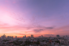 Good Morning, Bangkok Thailand (Vipu Srinavavong) Tags: twilight sunrise friday ladnscape cityscape nikon d750 photographer thailand bangkok architecture attraction vacation traveller