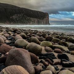 Rackwick (ingrid_b21) Tags: beach square orkney cliffs lightroom iphone rackwick iphoneology