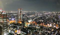 shinjuku night view2 (sapphire_rouge) Tags: tokyometropolitangoverment   shinjuku  statue  japanese  nightview night japan tokyo