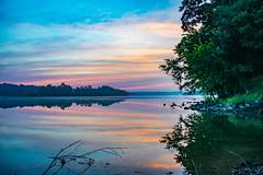 D80_4355-2 (KewliePhotos) Tags: sunrise potomacriver morning reflection firstlight river summer