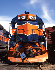 300 (DJ Witty) Tags: railroad md usa marylandmidland transportation dieselelectric locomotive
