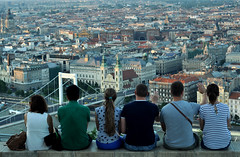 (gr0fuur) Tags: budapest hungary magyarorszg people person city urban vros sightseeing summer nyr 42 photography tourist travel friday original outdoor full duna danube river