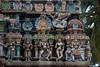 Carvings on Main Temple Gopuram (VinayakH) Tags: halasurusomeshwaratemple bangalore india ulsoor chola vijayanagaraempire kempegowda hindu shiva temple hinduism