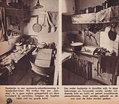 Dutch kitchen 1935 (Jo Hedwig Teeuwisse) Tags: 1935 1930s amsterdam oost wij kitchen keuken