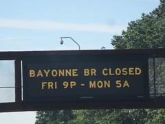Bayonne,NJ Bridge closed (esu105) Tags: bayonne nj