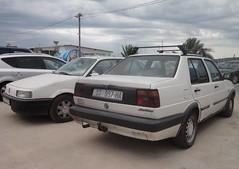 VW Jetta 2 4d Flair 1990/92 (Fuego 81) Tags: volkswagen jetta mk2 passat b3 st997ha st115to seget donji croatia hrvatska
