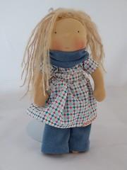Jul blau 2 (belambolo1) Tags: puppe waldorf waldorfdoll waldorfstyle stoffpuppe spielen spielzeug toy handmade handcrafted playing dollplaying 12inchdoll