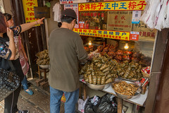 Snacks (stevefge (away for a few days)) Tags: china shanghai watertown food snack street people candid reflectyourworld zhujiaujiau