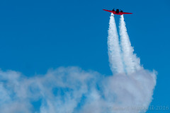 Matt Younkin and the Beech Model 18 (Edward Mitchell) Tags: oregonairshow aerobatics airshow aircraft hillsboro jets oregon oregoninternationalairshow planes mattyounkin beechmodel18 coldstreams edwardmitchell