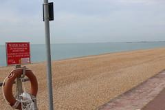 Dog free beach (Davydutchy) Tags: hythe kent uk truk tatra register walk wandeling spaziergang sandgate beach strand plage cycle path fietspad fahrradweg sign july 2016