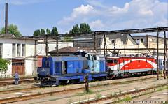 80-0171-1@ Revizia de vagoane Grivita (Chirila Alexandru) Tags: ldh1250 locomotive diesel hidraulica ldh faur 23august cfr calatori caile ferate romane train trains rail railway