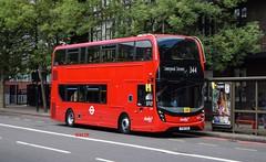 2537 Abellio London (KLTP14) Tags: yy16ykd adl enviro400 mmc abellio london 344 elephantcastle qb battersea 16reg brandnew