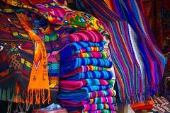 Guatemalan Textiles ((Jessica)) Tags: textiles vibrant colors colorful guatemala textile centralamerica latinamerica cloth panajachel guate