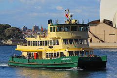 Alexander, Circular Quay, Sydney, September 10th 2014 (Suburban_Jogger) Tags: alexander firstfleetclass sydneyferries ferry boat ship sydneyharbour circularquay sydney newsouthwales australia september 2014 spring canon 60d sigma 70200mm wharf public transport passenger travel