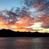 British Columbia sunset (karma (Karen)) Tags: elkbay britishcolumbia canada cruise sunset clouds iphone topf25 squared instagram