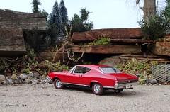 1968 Chevrolet Chevelle SS 396 Hardtop (JCarnutz) Tags: 124scale diecast danburymint 1968 chevrolet chevelless