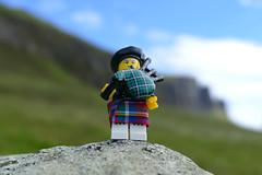 bagpiper (Chantal van der Ende-Appel) Tags: lego minifigs scotland quiraing isleofskye bagpiper