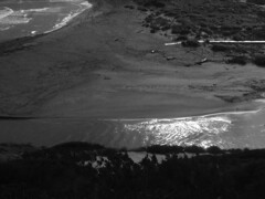 Cala Tirant bw (the incredible how (intermitten.t)) Tags: menorca espaa balearicislands baleares illesbalears minorca calatirant stream estuary 20151002 3107 espaa