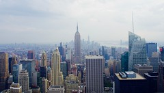 NY city view from the Rock (mcolleague) Tags: topoftherock newyork rockefellercenter skyscrapers usa america