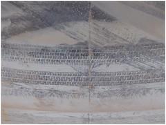 Cement industry (michelle@c) Tags: urban paris industry metal seine print sand cement clay abstraction quays michellecourteau industrialaera tolbiachaven manmade