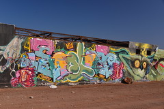 The Wall (Ctuna8162) Tags: playa beach antofagasta grafitti painters art