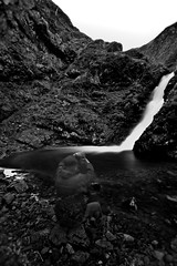 Forever composing (buddah1888) Tags: longexposure blackandwhite water danger canon grey scotland waterfall tendon tale borders mares achiles canon400d buddah1888 greymarestale