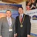 Showtel Karl de Lacy, Best Western International and Stephen McNally, IHF President