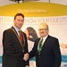 Showtel Nigel Allport, Digital Alchemy and Stephen McNally, IHF President