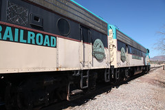 Verde Canyon Railroad (twm1340) Tags: railroad verde train march scenic engine az canyon valley fp7 clarkdale 2015 emd