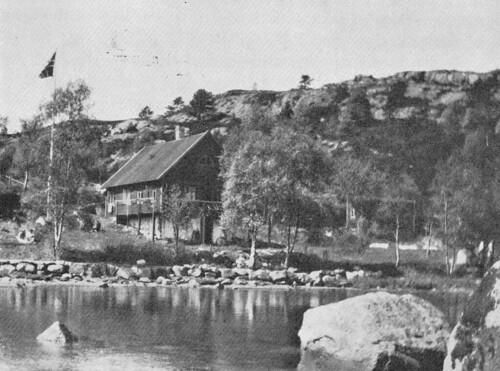 Hytta i Skjelvika i Mathopen