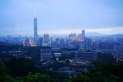 迷霧台北 (aelx911) Tags: city landscape cityscape sony taiwan taipei a7 虎山峰 fe35mm ilce7 sel35f14