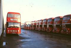 BS0350 URB822S TRENT MEADOW ROAD GARAGE DERBY SAT 10.12.1977 (davruss001) Tags: trent 1977 derby urb822s