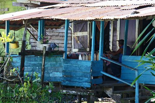 Desayuno en isla Carenero - Panama