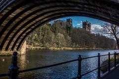 The River Wear (John Keniry) Tags: uk england durham britain bridges cathedrals rivers