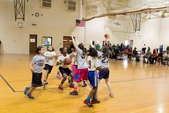 Girls Basketball Game Double Header GRPS Montessori Union High March 07, 2015 40 (stevendepolo) Tags: girls game basketball youth high union grand rapids montessori grps