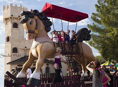 Giant rocking horse 8586PatLam (Studio5301) Tags: costumes festival kids children drums kilt bellydancer drummer faire clan renaissancefaire chld arizonarenaissancefestival fairycostumes studio5301 festivalsinphoenix patricialam patricialamphotographycom