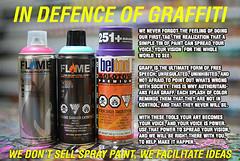 REPOST... (YardJock) Tags: graffiti power spraypaint