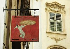 Stereotipi italiani... manca il mandolino! :P (BribbroPhoto) Tags: travel food praha praga pizza czechrepublic viaggi cibo cucina pulcinella repubblicaceca canonpowershots3is