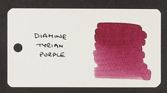 Diamine Tyrian Purple - Word Card