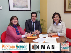Convenio entre IMAN y Fundación Aldaba - Proyecto Hombre