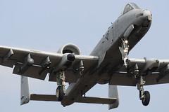 A-10 landing runway 23 (Evert_Nokin) Tags: usaf dm warthog a10 davismonthan spangdahlem usafe