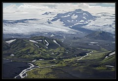 Aerial Iceland 2014 (RattyBoots) Tags: canon iceland laugavegur hike 7d southernhighlands landmannalaugar wildcamping canon24105 july2014