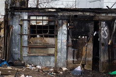 Burnt Down Building