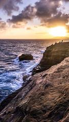 cliff lava rocks cellphone samsung galaxy s5 lavarocks... (Photo: Sup_Bro on Flickr)