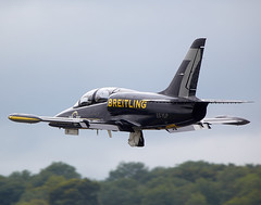 Breitling Jet Team (Bernie Condon) Tags: tattoo plane flying czech display aircraft aviation jet airshow albatros trainer ffd fairford 2014 riat airtattoo breitlingjetteam l39c riat14