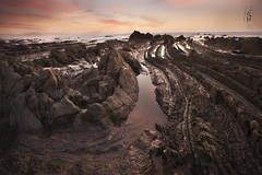 Barrika (s_T_3_f) Tags: sunset beach spain nikon playa espana basque vasco pais d800 barrika