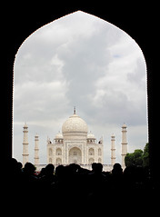 Taj Mahal, India (Parveen Singh) Tags: india white monument canon persian tomb taj mahal tajmahal tourists crown marble palaces emperor shah jahan mughal 550d